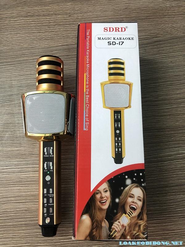 Micro Bluetooth SD-17 có thiết kế thời trang